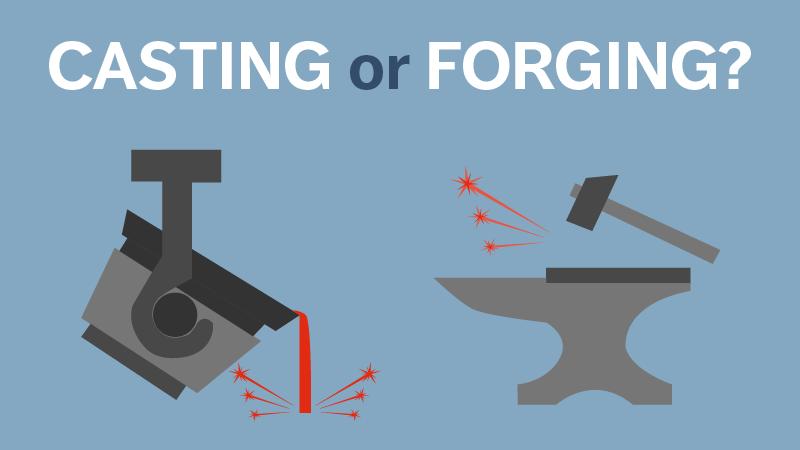 Forging vs Casting