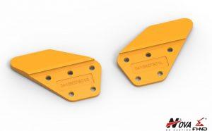 Kobelco Side Cutters SK100LR 2412N278D1 LR
