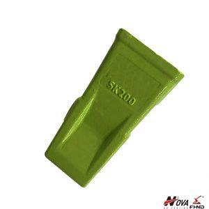 Replacement Kobelco Bucket Teeth Mini Digger SK200 BF02P