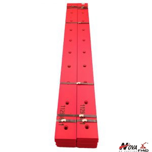 112946A1 Reversible Bolt-On Cutting Edges Fits Case 580 Loader Buckets