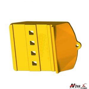 275-5410 2755410 Caterpillar Wheel Loader Edge Protection Half Arrows Center
