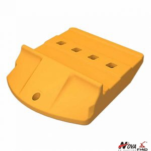 275-5411 2755411 Wheel Loader 992G 992K Half Arrow Edge Segment Protection 60mm