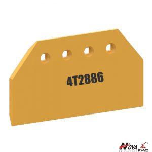 4T2886 Excavator Strike Off Plate Blade Extension RH LH