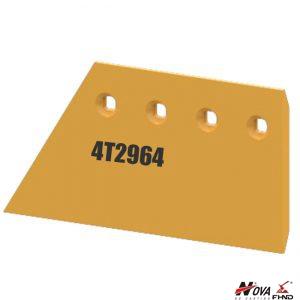 4T2964 Caterpillar Excavator Strikeoff Plate Blade Extension LH
