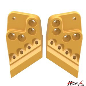 8J9825 8J9826 Caterpillar Bucket Sidecutters Wear Protection