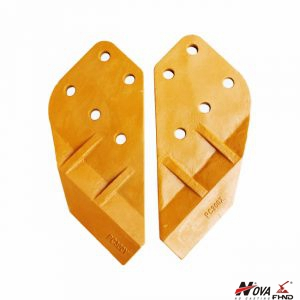 Bucket End Bit Knife Angle Plate Komatsu PC300 Side Cutter