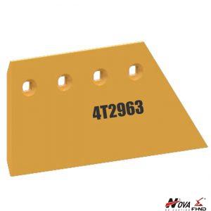 CAT 4T2963 Excavator Strikeoff Plate Blade Extension RH