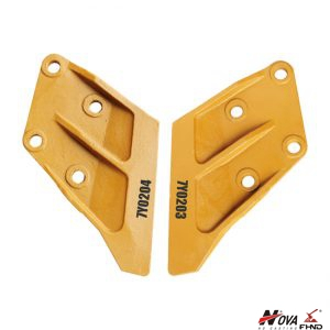 CAT style Excavator Bucket Wear J300 Side Cutter 7Y0203 7Y0204