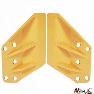 EX400 Heavy Earthmoving Spare Parts Side Cutters Suitable For HITACHI