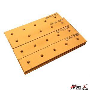 KOMATSU Bulldozer Cutting Edges 12F-70-31251, 11G-71-31170, 12F-70-31261