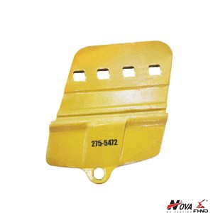 LH Caterpillar Segment Half Arrow Cutting Edge for Loader Bucket 2755472 275-5472