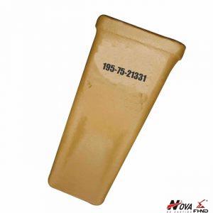 Standard Komatsu Tooth Point for D275A-2, D355A-3 Bucket 195-75-21331