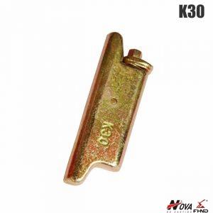 K30 Komatsu style Bucket Pin Electroplated Surface