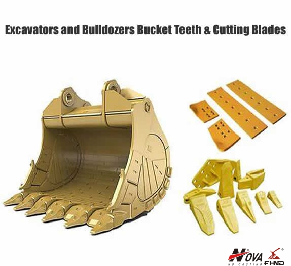 Excavator Digger Bucket Teeth and Adapters