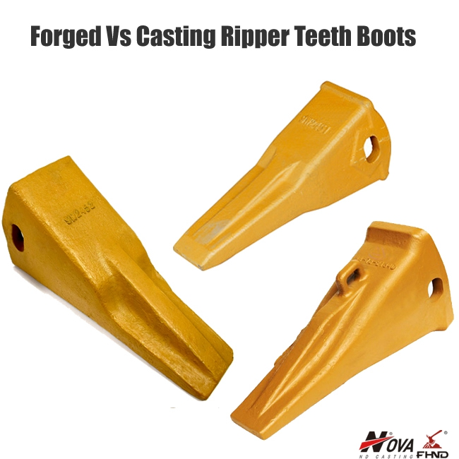 Forged Vs Casting Ripper Teeth Boots