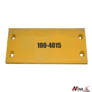 100-4015, 1004015 Caterpillar 994 Wheel Loader Bucket Heel Plates