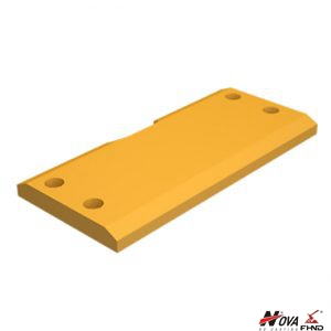 1618573, 161-8573 Loader Cutting Blades Wear Heel Plate