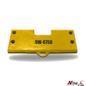 Caterpillar Cutting Edges Loader Bucket Heel Plate 9W6750, 9W-6750