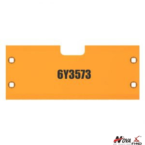 Interchanges OEM Caterpillar Plate Wear Part No. 6Y3573