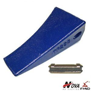 TF-23D TF23D H&L JD Fang Style Backhoe Bucket Teeth w Flex Pins 230TF