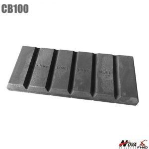 Bimetallic Wear Chocky Bar CB100