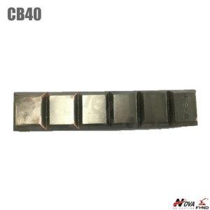 Bucket Chocky Bar CB40 Domite White Iron