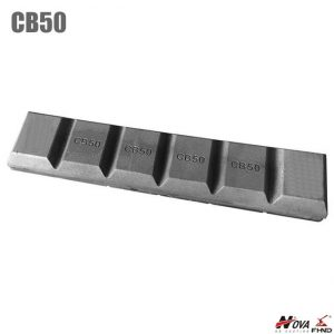 CB50 Chocky Bar Bucket Wear Parts