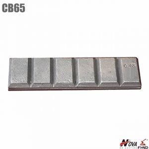 CB65 White Iron Chocky Bar for Excavator & Loader Buckets