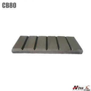 Construction Machinery Parts Wear Chocky Bars CB80