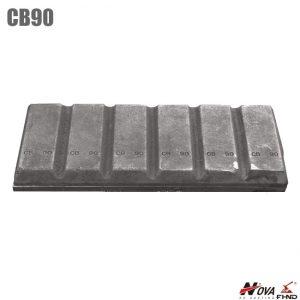 Digger Attachments CB90 Bucket Chocky Bar 90MM