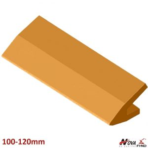 100-120mm Bucket Protection Lip Shrouds for Bevel Angle Cutting Blades