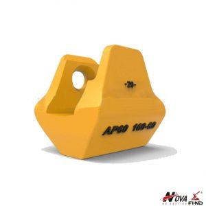 AP60 160-60 Heel Shrouds for Excavator