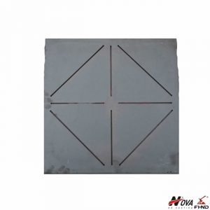 Cast Iron Notched Wear Plate