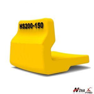 Bucket Wear Parts Weld On Heel Shrouds HS200-150