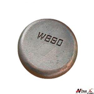 Chromium-molybdenum White Iron Casting WB90 Wear Button