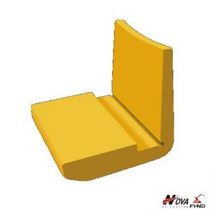 HS140-110 Bucket Wear Protection Heel Blocks