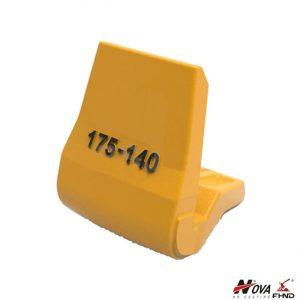 HS175-140 Heel Block for Excavator and Loader Buckets
