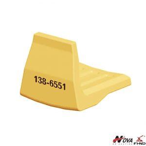 High Wear Corner Edges Protection Caterpillar Heel Shrouds 1386551