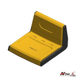 Huge Improvement Wear Life Tungsten Overlay Heel Shroud ES6697-5