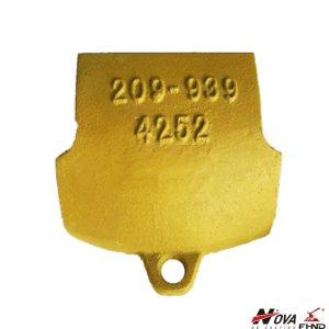 Komatsu Lip Protector 209-939-4252 for PC650 Model Excavator
