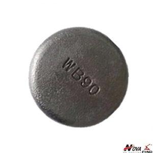 WB90 High Chromium Molybdenum White Iron Wear Button 90MM