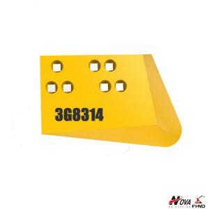 3G8314 CAT 6E, 84D, D7 Tractor Dozer Corner Bit Abrasion