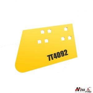7T4092, 7T-4092 CAT D9 Semi-U Hot Cupped Corner Bit LH