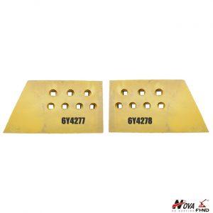 CAT Bulldozer Level Cut End Bits 6Y4278 6Y4277