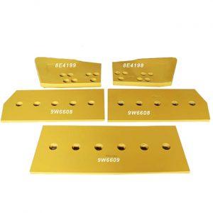 CAT D10 Bulldozer Cutting Edge End Bits 9W6609, 9W6608, 8E4199, 8E4198
