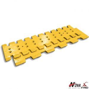 Carbide Embedding Scraper Centered Serrated Blades