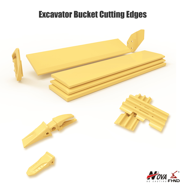 Excavator Bucket Cutting Edges