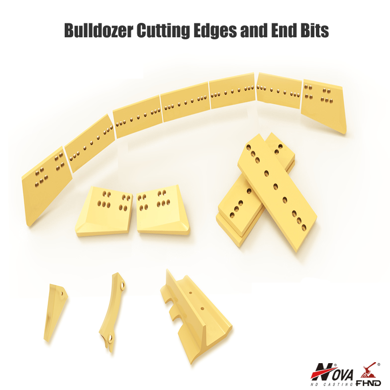 Bulldozer Cutting Edges and End Bits