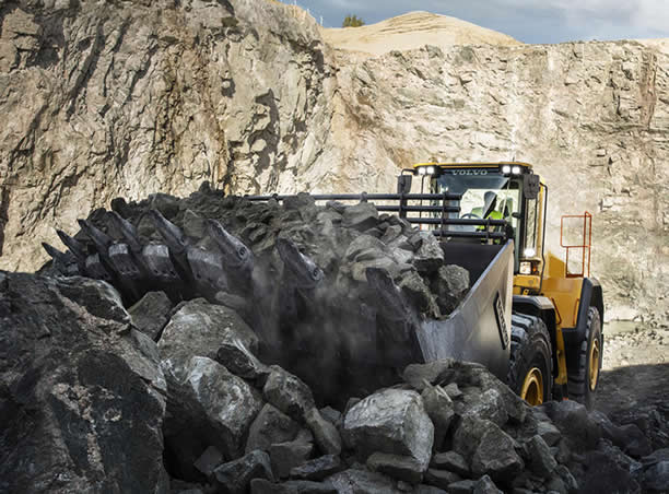 VOLVO TOOTH SYSTEM FOR WHEEL LOADERS AND EXCAVATORS