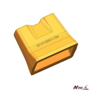 Sand-Casting Wear Parts Compactor Twist Cleat Tip 4214126501-700